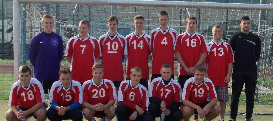 Mistrzostwo powiatu w piłce nożnej szkół średnich